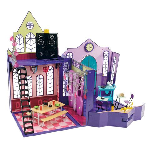 doll house school monster high high school academy dolls house toy new