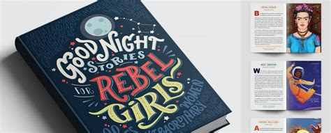 libro good night stories for good night stories for rebel girls dal crowdfunding a penguin press