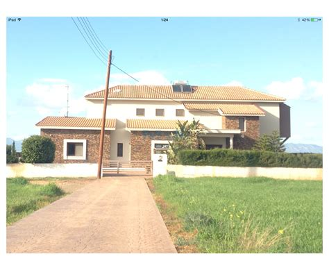 four bedroom house in agious trimithias for rent