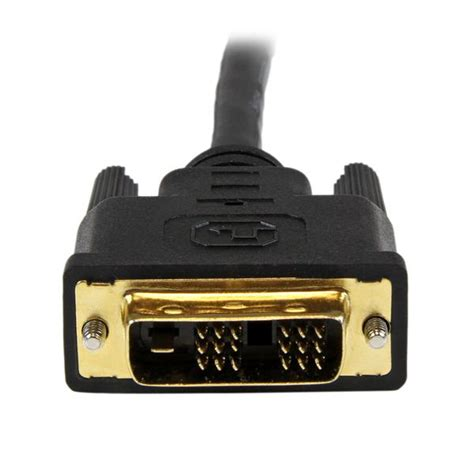 Hdmi To Dvi D Cable 1 5m 1 5m hdmi to dvi d cable hdmi cables startech united kingdom