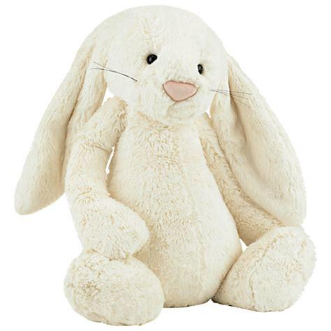 buy jellycat bashful bunny soft toy huge cream john lewis