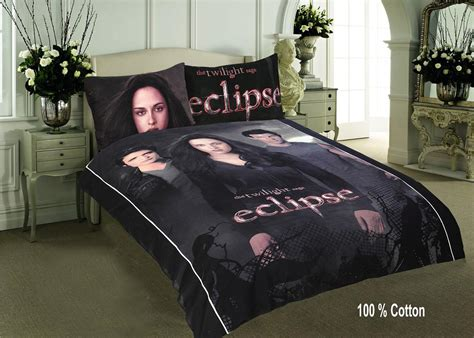 the twilight saga eclipse double quilt duvet cover set