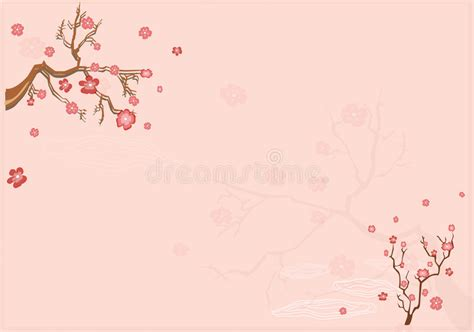 korean tumblr themes free japanese background with sacur stock vector illustration
