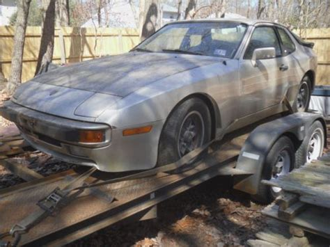 how cars run 1989 porsche 944 spare parts catalogs purchase used 1983 porsche 944 coupe project or parts not running in sicklerville new jersey