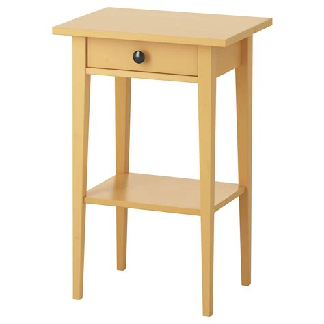 Yellow Side Table Ikea Hemnes Bedside Table Yellow 46x35 Cm Ikea