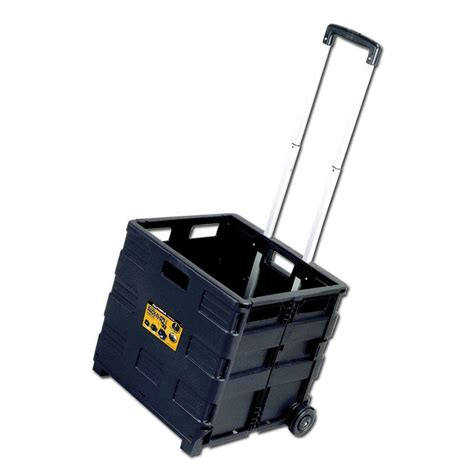 olympia grand pack n roll 18 in folding utility cart 85