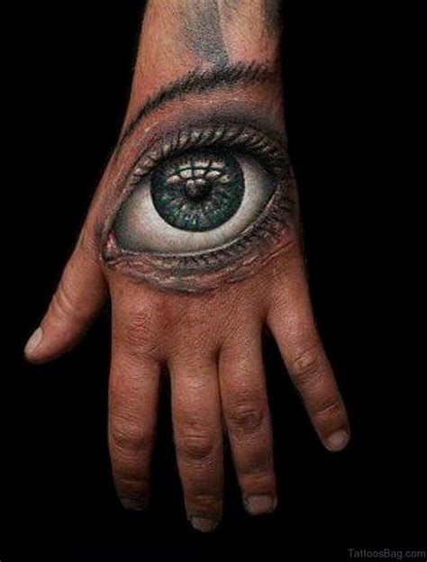50 classic eye tattoos on hand