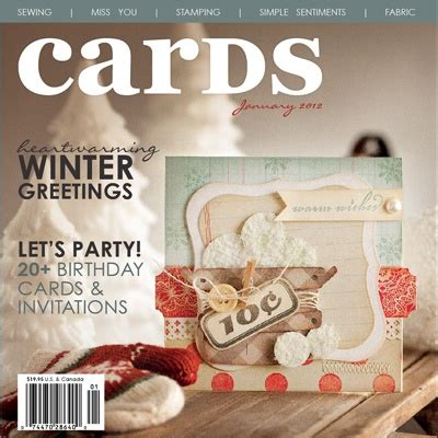 best card magazine 17 best images about magazines i cards published in