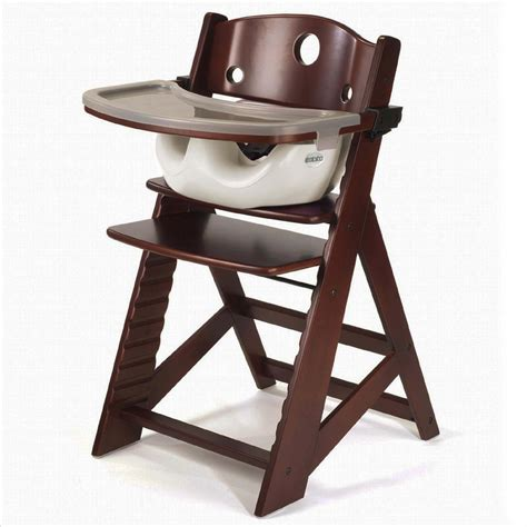 keekaroo high chair keekaroo height right high chair with infant insert and tray
