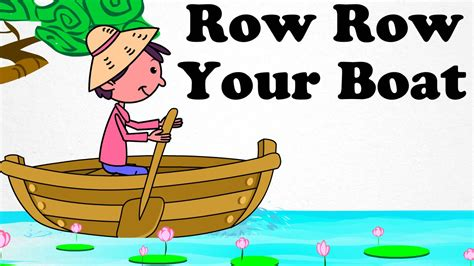 row your boat may d row row your boat clipart 42