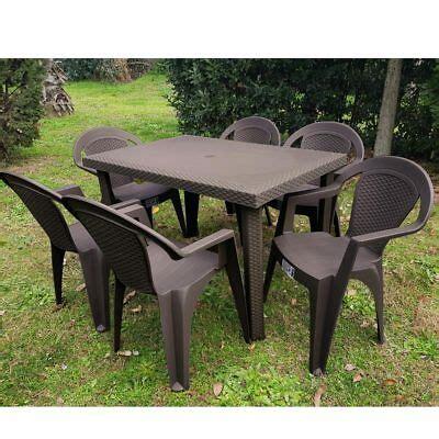set tavolo e sedie da esterno set tavoli e sedie esterno arredamento da esterno