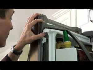 Lg French Door In Door Refrigerator - replace a door gasket kenmore elite and lg 3 door refrigerators youtube