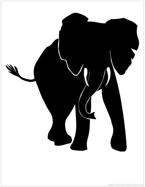 free silhouette images african animals silhouette clipart best