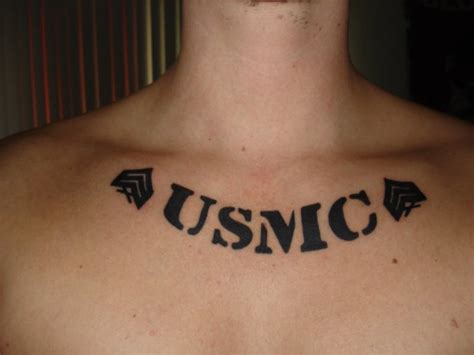 usmc tattoo font army tattoos and designs page 36
