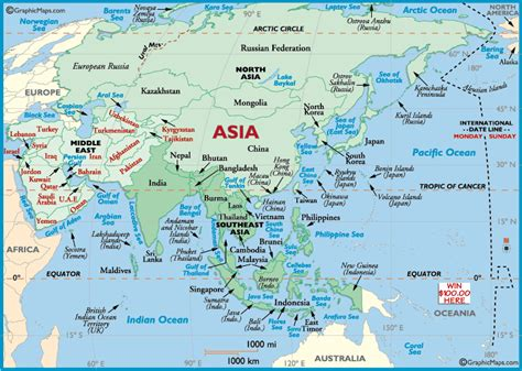 maps of asia maps of asia countries