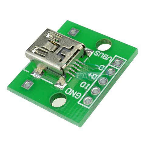 Adaptor Bor Pcb aliexpress buy 5pcs mini usb to dip adapter