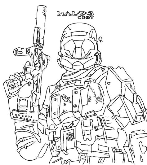 printable coloring pages halo free printable halo coloring pages for kids