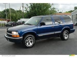 2000 indigo blue metallic chevrolet blazer ls 32966191