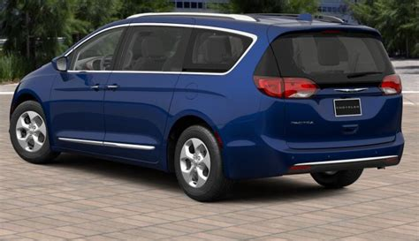 Blue Chrysler Pacifica by 2017 Chrysler Pacifica Touring L Plus S Cj New Mexico