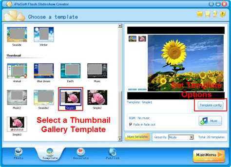 flash photo gallery templates free how to make a travel photo gallery
