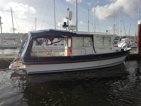 hardy fishing   yacht boat  sale  dartmouth devon
