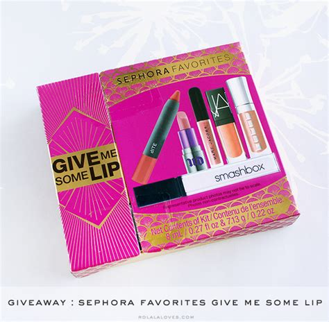 Sephora Giveaway - giveaway sephora favorites give me some lip rolala loves