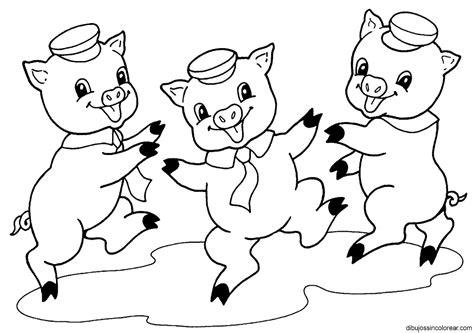 imagenes de cuentos infantiles para colorear e imprimir tres cerditos dibujalia dibujos para colorear
