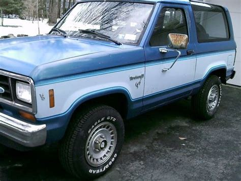 automobile air conditioning repair 1984 ford bronco lane departure warning buy used 1989 ford bronco ii xlt sport utility 2 door 2 9l in endicott new york united states