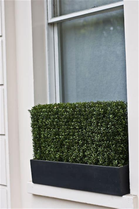 artificial window box plants outdoor artificial plants roof terrace design window