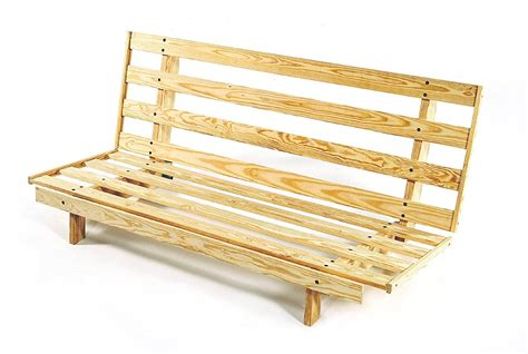 Wood Futon Frame by Build Diy Simple Wood Futon Plans Plans Wooden Wine Rack