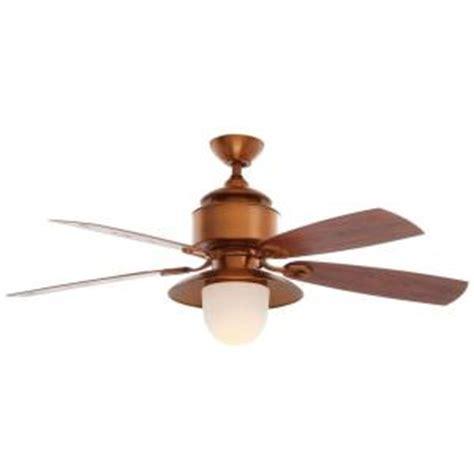 hton bay ceiling fan wall hton bay copperhead 52 in weathered copper outdoor
