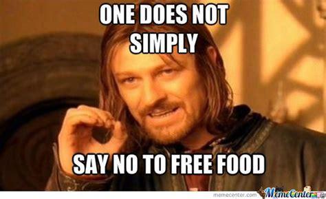 Free Food Meme - a happy turn of events blogityheth