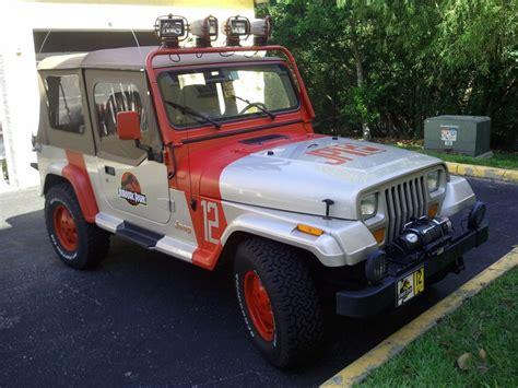 ebay jeep wrangler auf ebay gefunden der jeep wrangler aus jurassic park