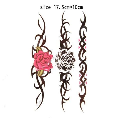vertical tattoo maker can mix style 10pcs lot dropshipping vertical rose design