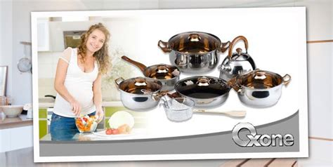 Oxone Eco Cookware Set Panci jual oxone panci set eco cookware ox 933 di indonesia