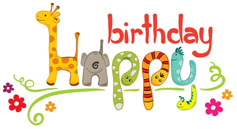 happy birthday png clipart gallery