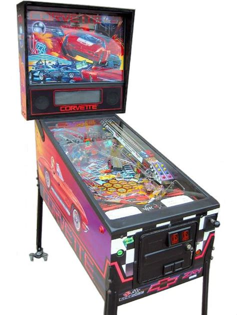 corvette pinball machine liberty