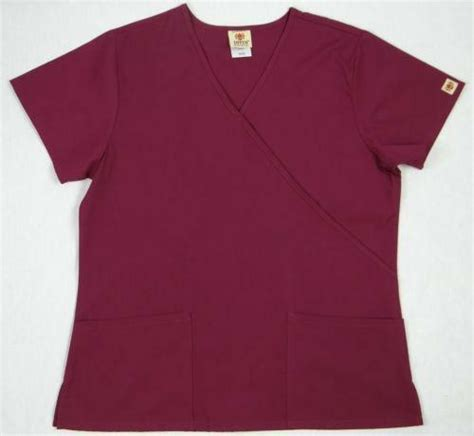 wine colored scrubs wine scrub set ebay