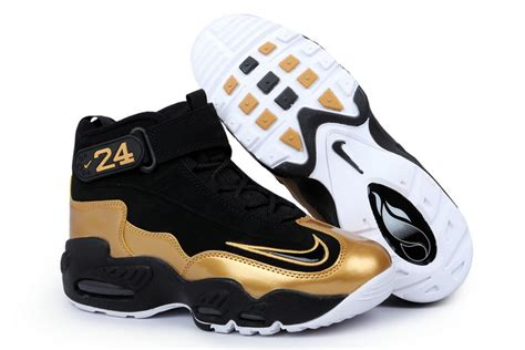 griffeys sneakers nike air griffey max 1 black black metallic gold black for