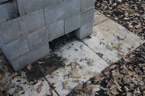 concrete block pit anatomy of a cinder block pit barbecue