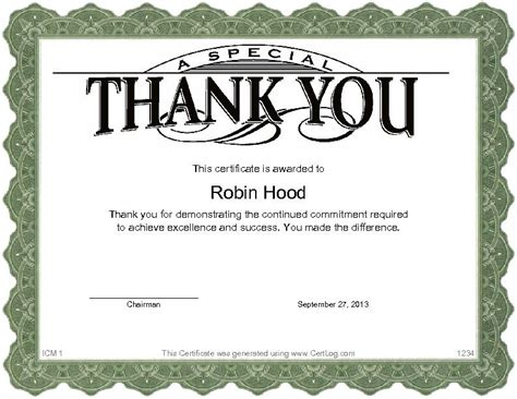 thank you certificate templates free thank you certificate template search results calendar