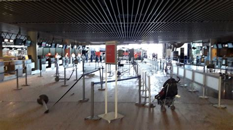 brussels airport damage to brussels zaventem airport terminal after terror