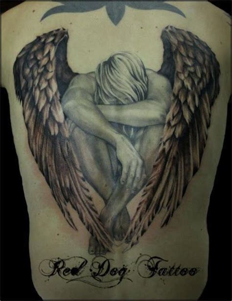 this is a tattoo called angel of grief this has my dad s tattoo 05 tattoos ink spots pinterest