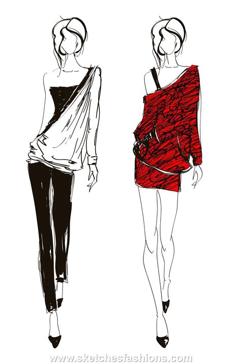design fashion drawing tight pants and mini skirts fashion sketch imaginaci 243 n