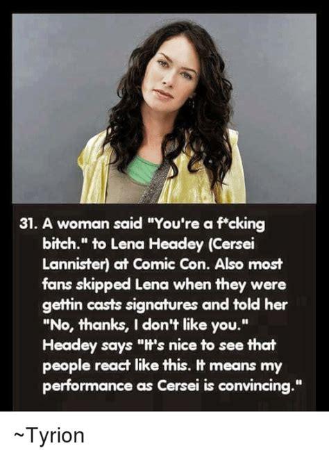 Cersei Lannister Meme - 25 best memes about lena headey lena headey memes