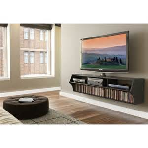 floating tv stands prepac black altus plus 58 quot floating tv stand