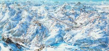 Val d isere ski area info espace killy france