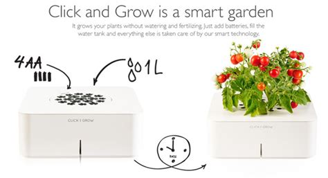 click and grow grow plants with a gadget click grow