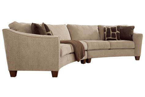 ashley curved sectional couches ashley furniture for the home pinterest