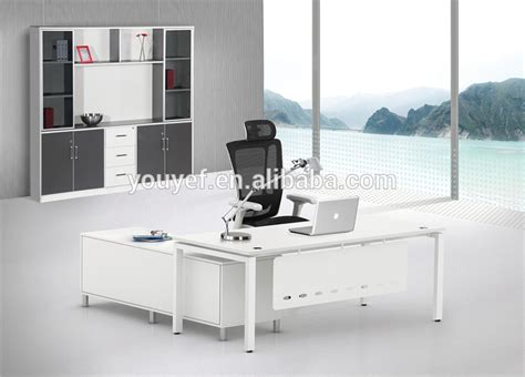 office desk with file cabinet contemporary design white modern executive office desk